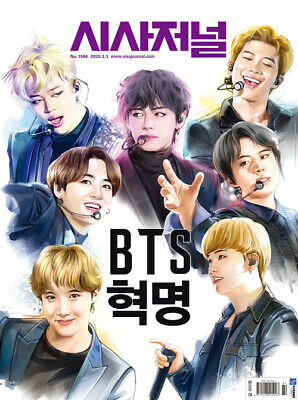 BTS COVER Weekly SisaJournal Korea Vol.1584 Whole Magazine March 2020 K-POP Star