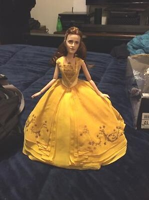 NEW Disney Belle Film Collection Beauty and the Beast Live Action doll No box (Disney Belle Doll)