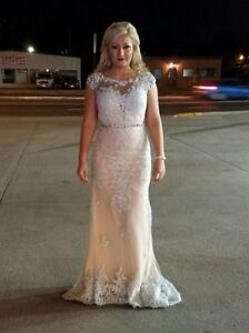 Ball Gown Dress. Perfect Condition * WORN ONCE London Ontario image 1