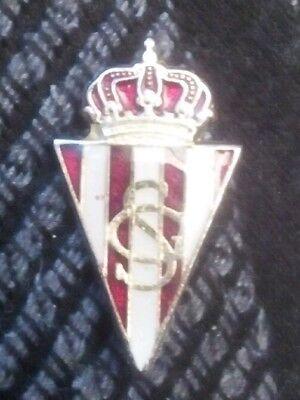 Insignia de imperdible del real sporting de gijon segunda mano  Vitoria-Gasteiz