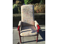 Armchair , feel free to view free local delivery Great chair with good support