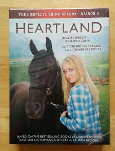 Heartland Season 3. 5 DVDs. New & SEALED Box Set.