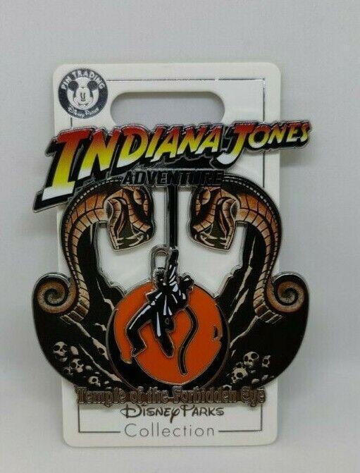 Indiana Jones Adventure Temple of the Forbidden Eye Disney Slider Pin