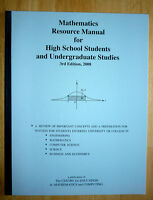 Mathematics Resource Manual for High School Students and Undergr