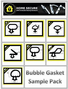 Bubble Gasket Rubber Door And Window Seal Gasket Black
