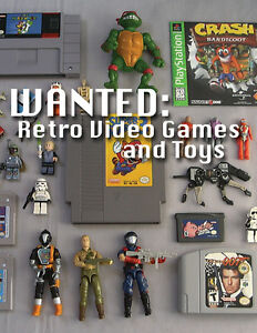 Looking to Buy 80s Toys
