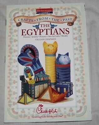 Heinemann - The Egyptians by Gillian Chapman - Chick-fil-A Kids Meal Book 2003 - Egyptian Chicks
