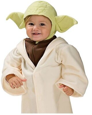 Little Star Kostüme (Little Yoda Costume Star Wars Clone Wars Jedi - Child Baby Infant Toddler 2-4)