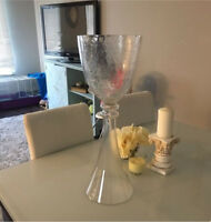 Vases $5 Dollars Chair Covers $0.75 Cents
