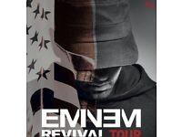 2x Eminem Revival Tour Saturday twickenham seated