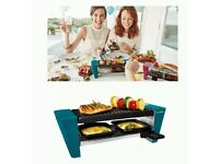 Mini raclette grill new boxed