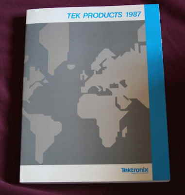 Vintage Tektronix 1987 Catalog