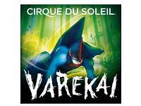 3x Platinum Tickets Varekai Cirque du Soleil Nottm motorpoint 4pm
