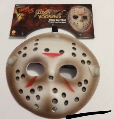 Friday the 13th Jason Voorhees Deluxe Adult Costume Mask, Very Comfortable - Friday The 13th Costumes