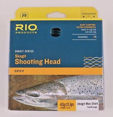 Rio Skagit Short Head - Rio Skagit Max Short 400 Grain Shooting Head Free Fast Shipping 6-20988