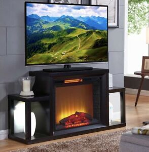 Fireplace / tv stand