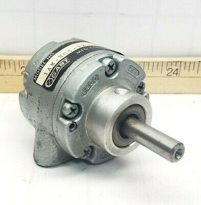 Gast Air Motor 0.42 Hp Counter-clockwise 10000 Rpm 100 Psi 1am-ncc-12