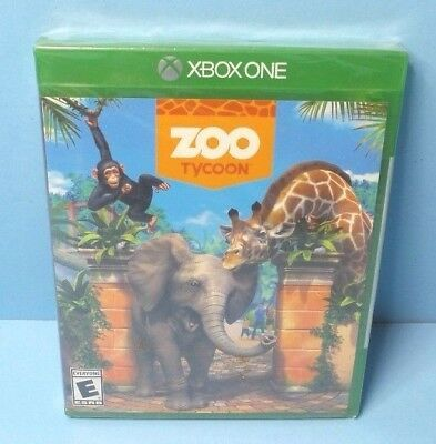Zoo Tycoon (Xbox One) Saturated Game  BRAND NEW FACTORY SEALED