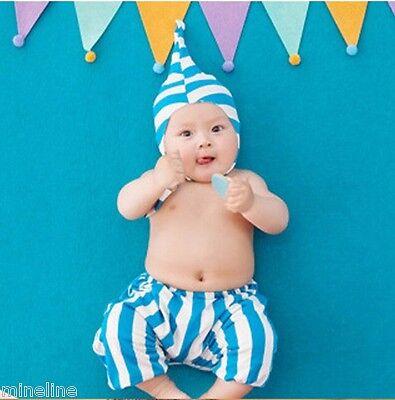 ★★★NEU Baby Fotoshooting Kostüm Kleine Zipfelmütz Pumphose 0-3 Monate★★★Nr.S