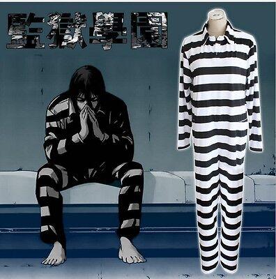 Hot Prisoner Costume (HOT Anime Prison School Cosplay Costume Prison Uniform Stripe)