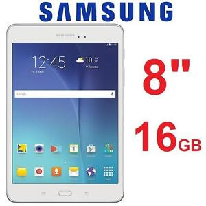"""REFURB SAMSUNG GALAXY A TABLET 16GB 8"""" WIFI 16GB ANDROID TABLET - WHITE 101864815"""