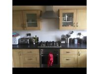 Double room in large modern flat with garden