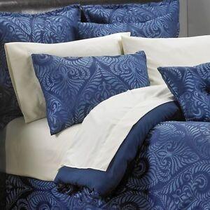 McLeland Design Venetian 12-Pc. Jacquard Bedroom Set King Navy
