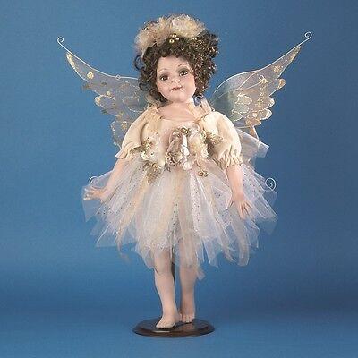 "Job Lot of 4 Vanity Fair 24"" Standing Porcelain Fairies"