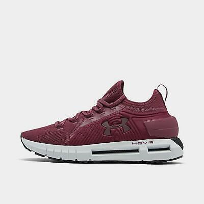 Women's Under Armour HOVR PHANTOM SE Running Shoes Mulberry / White / Black 8.5