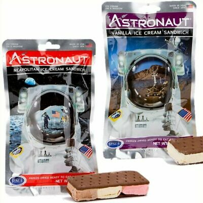 Astronaut Space Food (Astronaut Space Food - Freeze Dried Ice Cream Sandwich - Choose from Two)