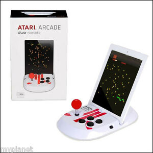 ATARI ARCADE DUO POWERED RETRO GAMES JOYSTICK CONTROL MADE FOR APPLE iPAD *NEW*