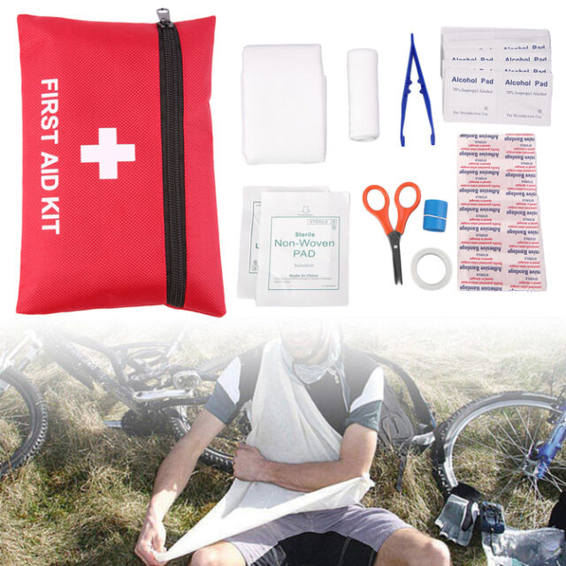 1pc 12Types Camping Emergency Survival Tools All In One Tool First Aid Kit EW