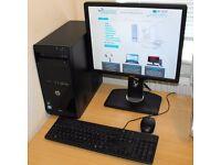 Core i3 Windows 10 PC Complete HP Pro 3500 Series MT