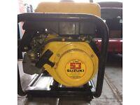 Suzuki 160 2.4Kw Petrol Electric Generator.