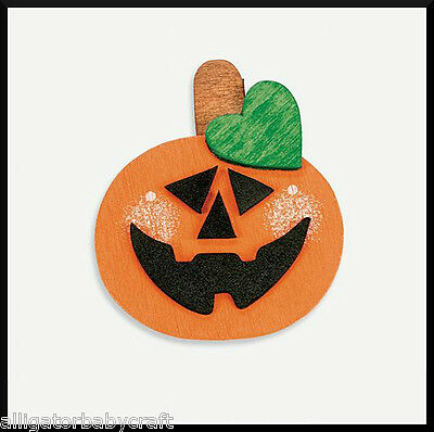 Halloween Wooden Pumpkin Jack-o-Lantern Magnet Craft Kit for Kids ABCraft  (Halloween Crafts For Children)