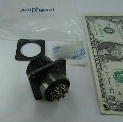 Amphenol Mil Spec Circular 10 Pole Solder Connectors  Ms3102a18 1S  0524 New