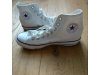 BRAND NEW Converse All Star White High Tops