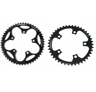 STRONGLIGHT DURAL 5083 BLACK 110BCD mm SHIMANO COMPACT CHAINRING   36T