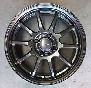 """Japanese 15"""" Milano LCZ 010 Wheel & Tyre Package for 4-Stud Cars Mitcham Whitehorse Area Preview"""