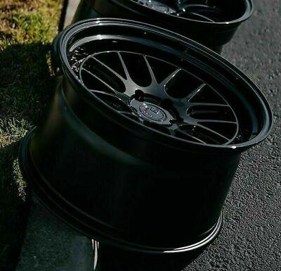 19x9.5 / 19x11 +15  5x114.3  AodHan DS06 Wheels Gloss Black 19 Inch Rims Set 4