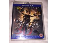RESIDENT EVIL AFTERLIFE 3D (Blu-Ray)