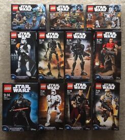 Brand new unopened Lego sets x11 - Star Wars