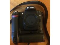 Nikon D80 DSLR Camera body with power winder
