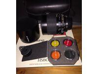 Tamron 500mm f8 adaptall mirror lens to fit Nikon digital camera, with adapter.
