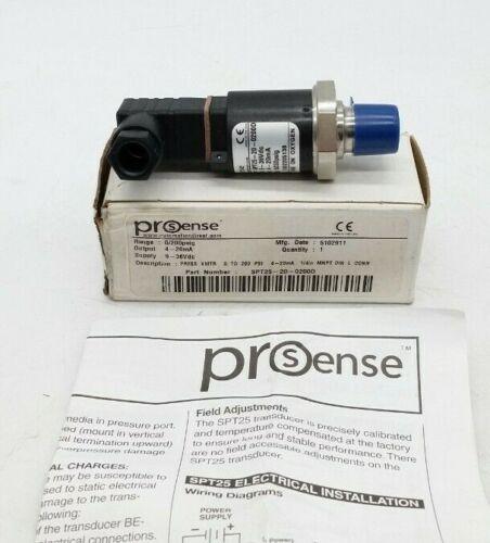 Prosense SPT25-20-0200D Pressure Transducer