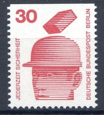 BERLIN MI NR 406 C EINZELM 30 UNFALLVERH TUNG I POSTFISCH 1971