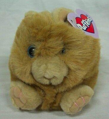 "Puffkins CINNAMON THE TAN CAT 4"" Plush STUFFED ANIMAL Toy NEW"