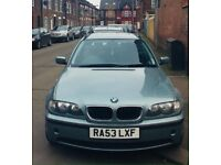 BMW 318 I SE 2003 TOURING 3 SERIES HPI CLEAR 2 OWNERS/ NOT VW PASSAT GOLF OR X3 ford or Audi A3