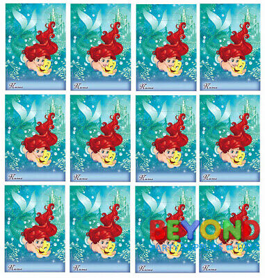 The Little Mermaid Party Favors (Disney Ariel Little Mermaid Loot Bags Favors & Party Bag Fillers Candy)