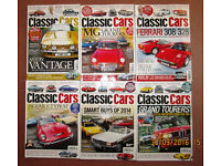 Classic Cars Magazine – Incomplete 2014 Year – No July